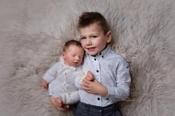 newborn with brother photos in Milton Keynes