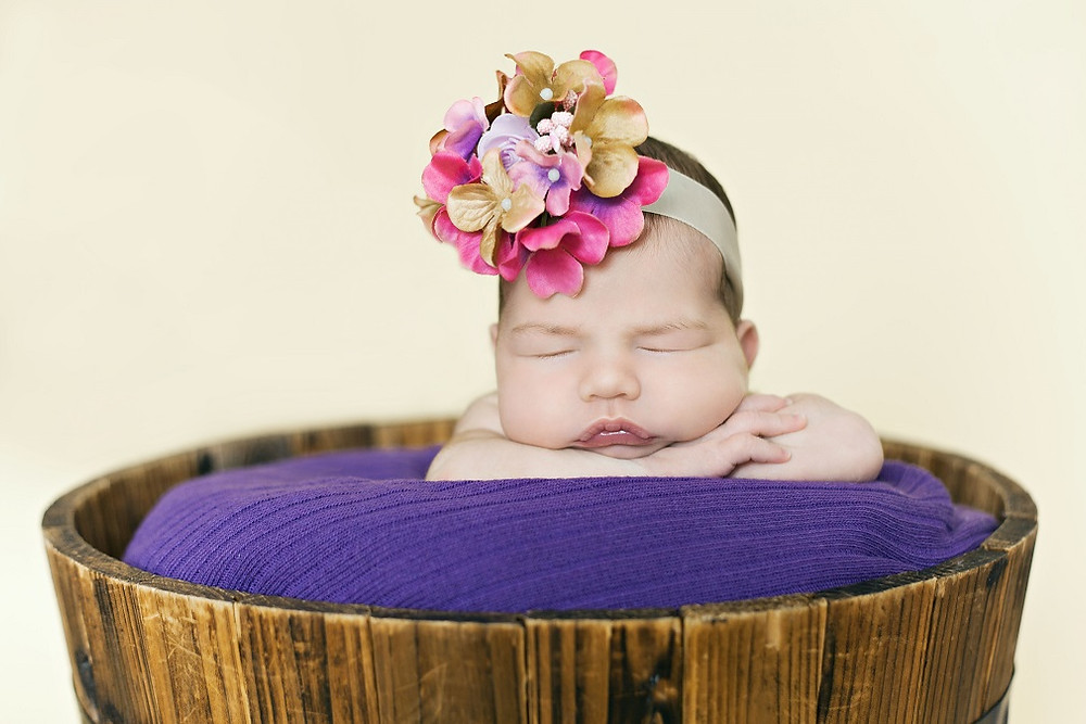 Newborn photoshoot in Bedford