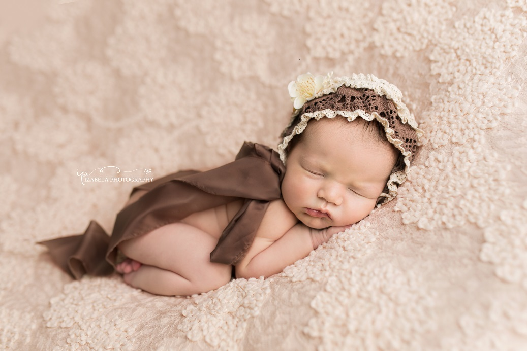 newborn vintage photo