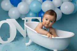 baby bathtub session in bedford