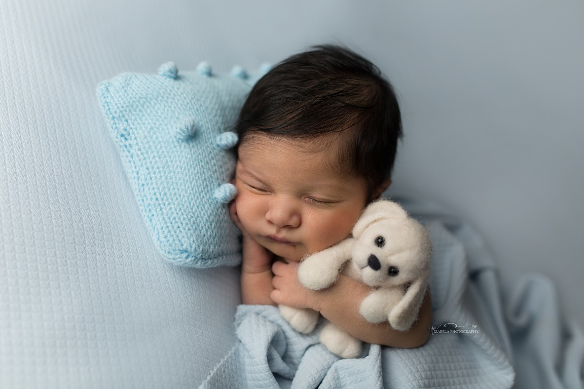 newborn boy photos in Bedford