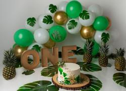 smash cake photo in bedfordshire