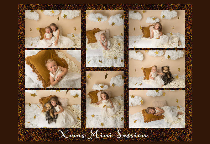 In the clouds - Christmas Mini Session