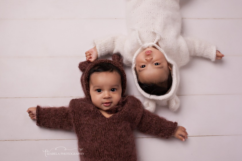 Twins photography Bedford