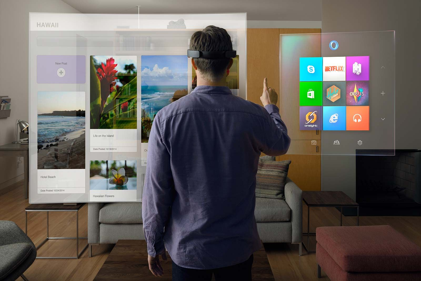 The Potential of the Hololens