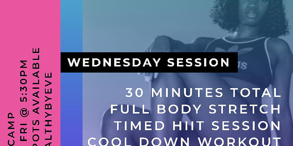 Wednesday Session