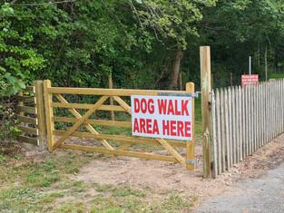 Dog Walking Area