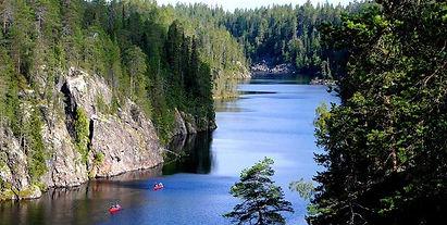 Canoë Finlande