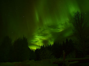 aurore boréale Finlande