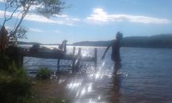Baignade ponton Kaaprinsaari