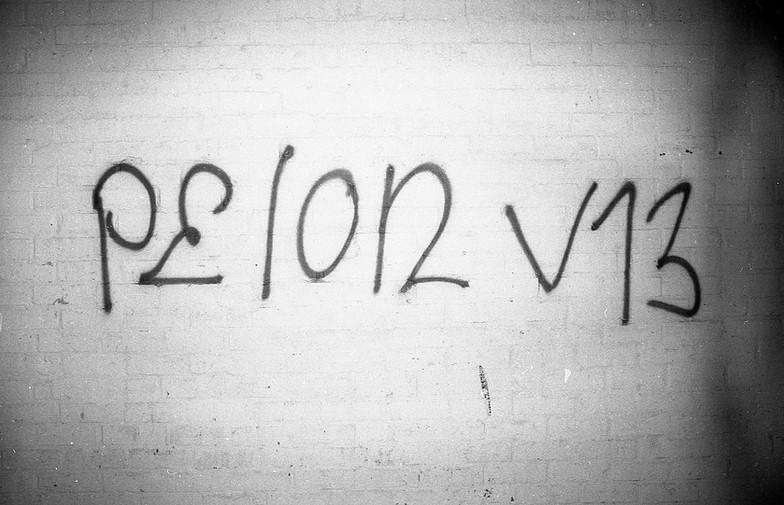 Pelon V13 aka Pelonski Love. Venice, CA. 1980'z