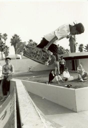 """Eric """"Tuma"""" Britton. Venice, CA. 1980'z"""