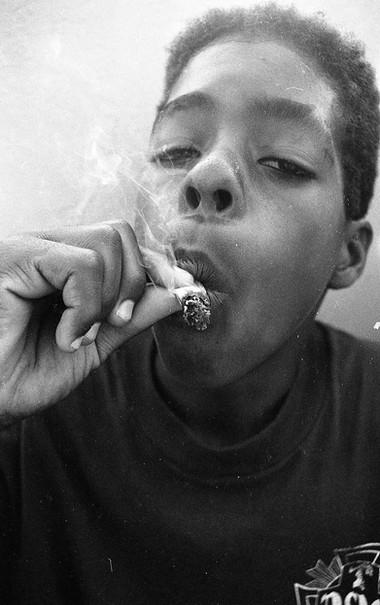 """Eric """"Tuma"""" Britton. Underage smoker. Venice, CA. 1980'z"""