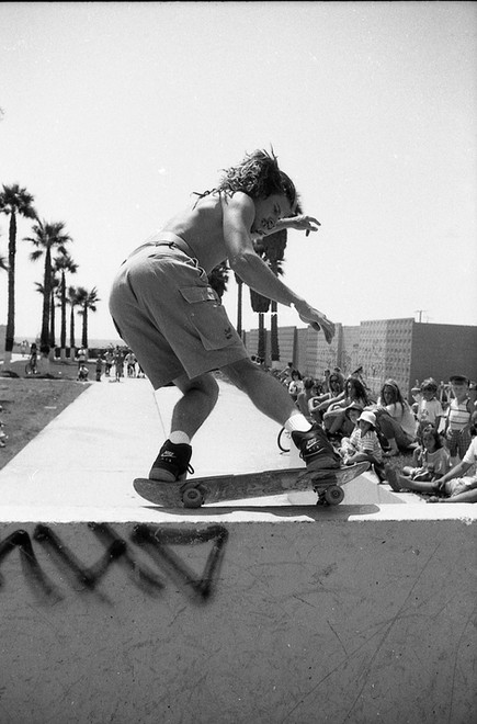 "John ""JT"" Thomas, the T in Team THC. Venice CA 1980'z"