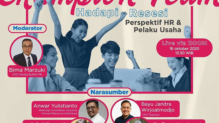 Top Business Talk #2: Bangun Champion Team, Hadapi Resesi