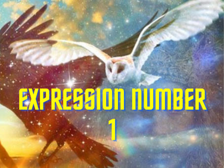 EXPRESSION NUMBER 1  EGYPTIAN NUMEROLOGY