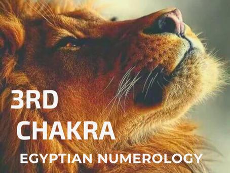 EGYPTIAN NUMEROLOGY;     SOLAR PLEXUS & COUGAR MEDICINE