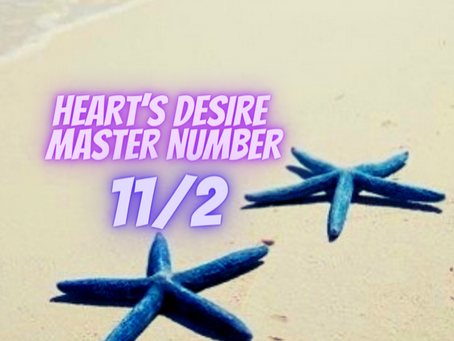 HEART'S DESIRE MASTER NUMBER ELEVEN EGYPTIAN NUMEROLOGY