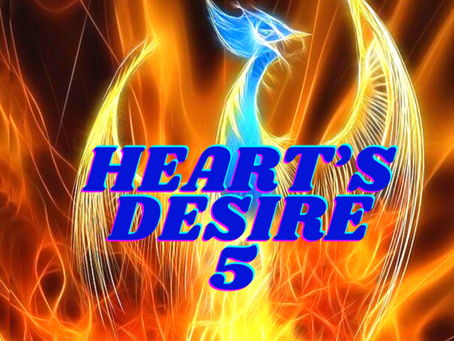 HEART'S DESIRE NUMBER FIVE         EGYPTIAN NUMEROLOGY