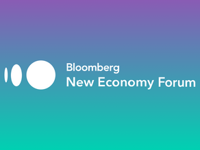 Bloomberg New Economy Forum Exclusive Interview with ECC Founder, Bincheng Mao