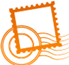 Orange Stamp