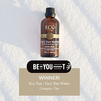 Award_FaceTanWater_Winner_BeYou_Square.j