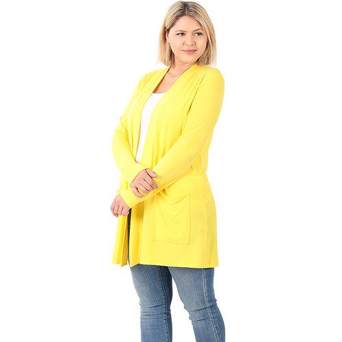 Everyday Cardigan Plus Size Long Sleeve