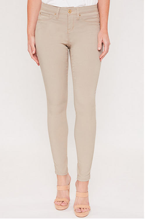 Taupe Royalty Brand Hyper Stretch Pant