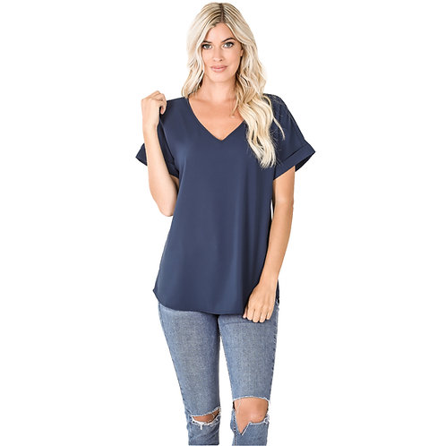 The Shelly Top Navy