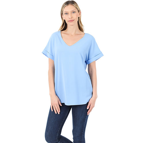 The Shelly Top Spring Blue