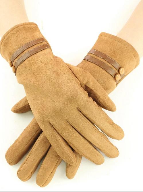 Suede Gloves