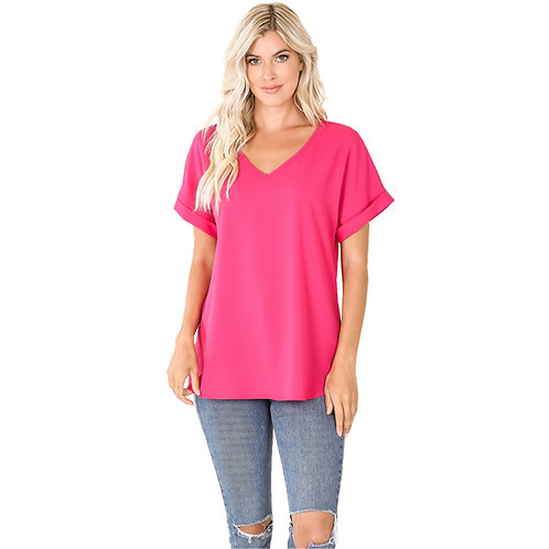 The Shelly Top Hot Pink