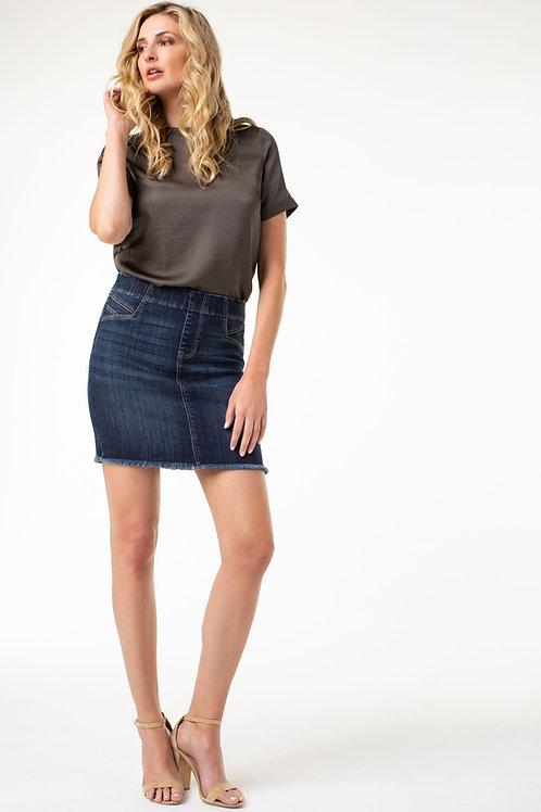 Liverpool Denim Skirt