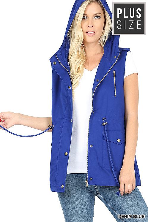 Royal Blue Utility Vest