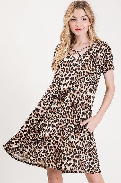 Lots of Leopard Dress