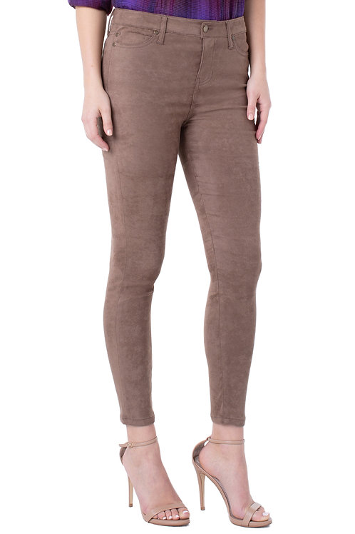 Liverpool Abby Skinny Suede