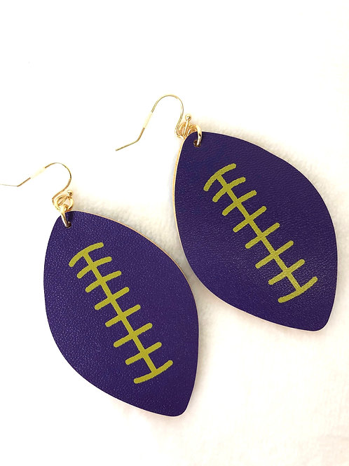 Kansas State Earrings