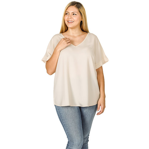 The Shelly Top Taupe