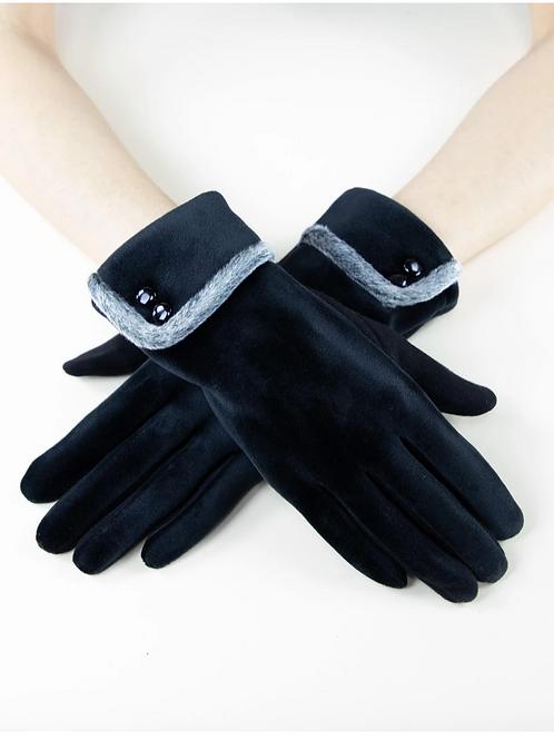 Velvet Cuffed Glove
