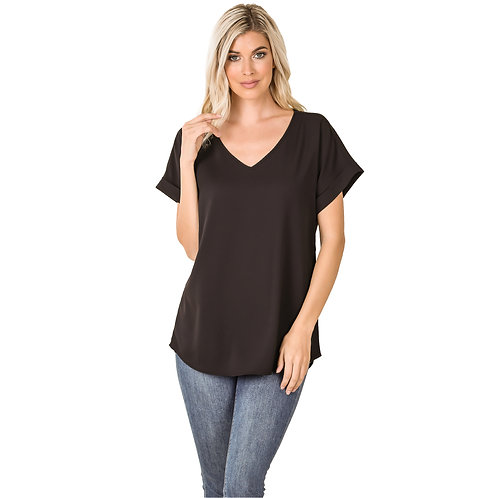 The Shelly Top Black