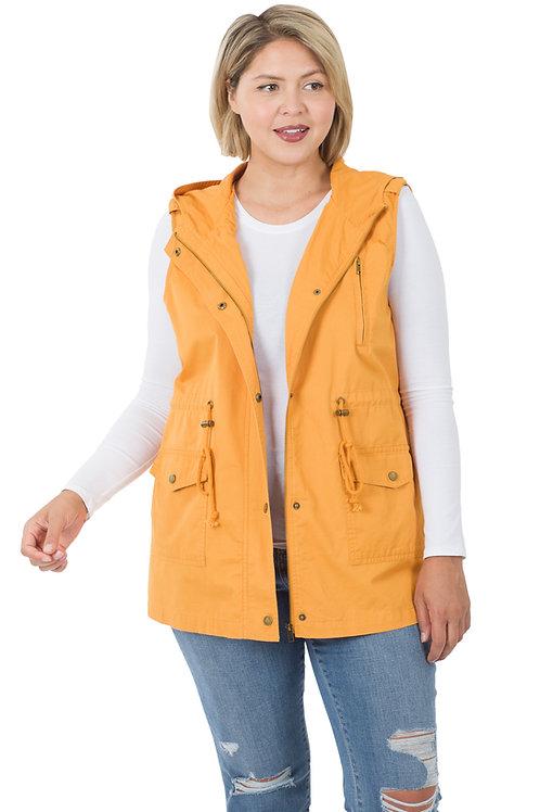 Mustard Utility Vest