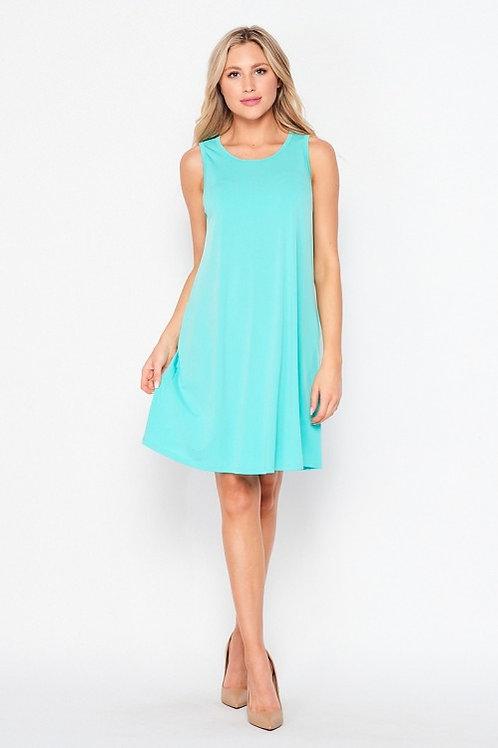Sleeveless Dress Plus Size