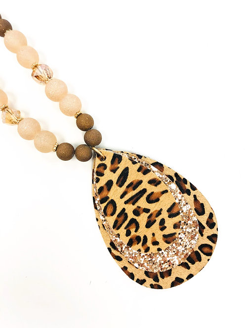 Love My Leopard Necklace