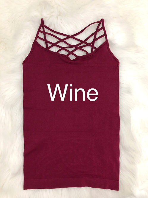 Criss Cross Cami SIZED