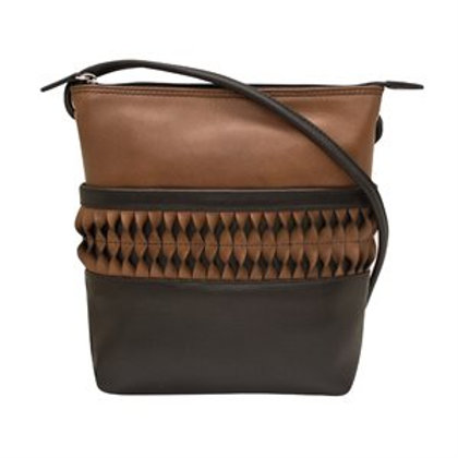 With a Twist Leather Purse
