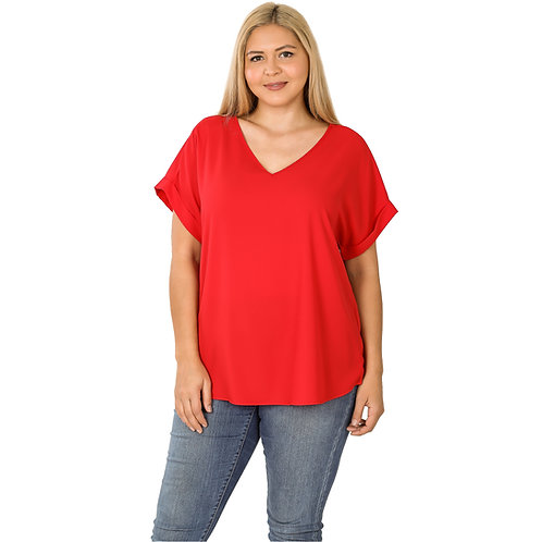 The Shelly Top Red
