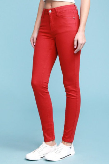 Judy Blue Red Denim