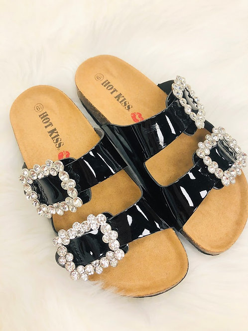 Bling  Buckle Sandals