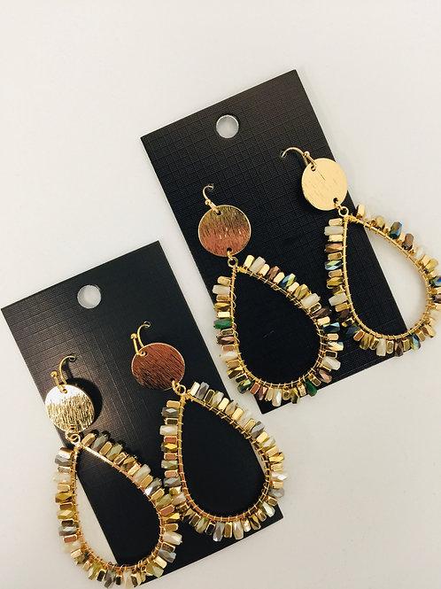 Golden Radiance Earring