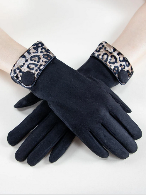 Leopard Cuff Glove